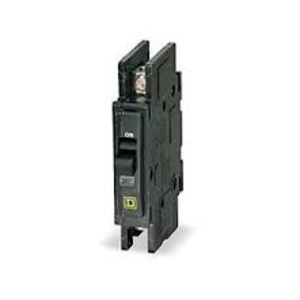 CIRCUIT BREAKER, QOU, 10A, 120VAC / 48VDC MAX, 1-POLE, SQUARE D, SURFACE OR DIN MNT, .75IN, QOU110