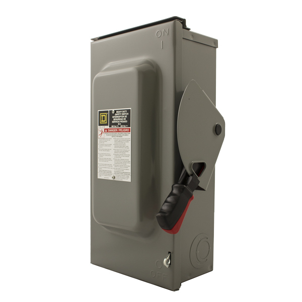 Square D 600VAC Heavy-Duty Safety Switch Disconnect