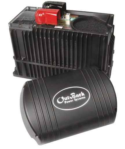 OUTBACK, VFX3524, BATTERY INVERTER, OFF-GRID SINEWAVE, 3.5KW 24VDC, 120VAC 60HZ