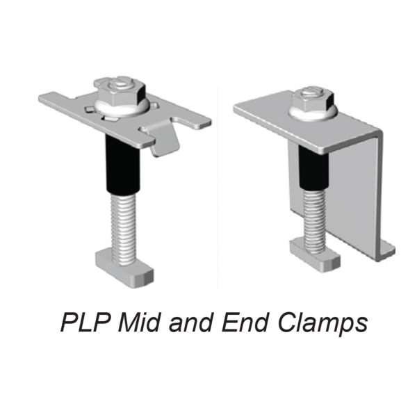 PLP RAD Mid and End Clamps