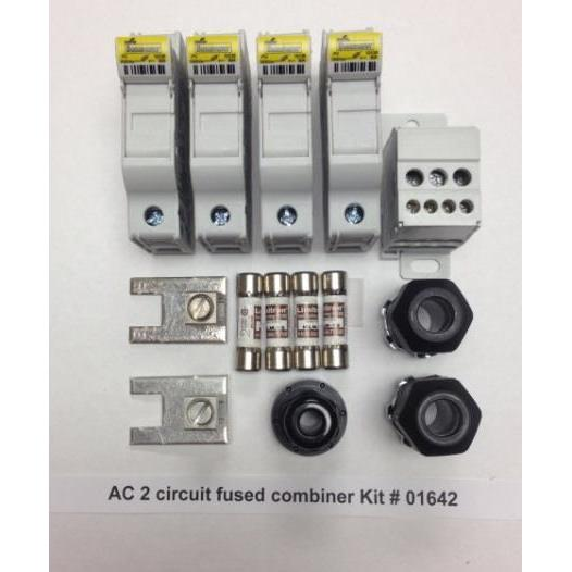 TERMINAL BLOCK, SOLADECK 01641 AC FUSED PASS THROUGH KIT 1 CIRCUIT