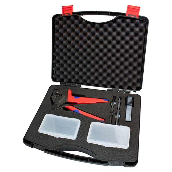 RENNSTEIG TOOL, 625 511903 1RT, SOLAR CRIMP SET FOR HOSIDEN, WITH CASE