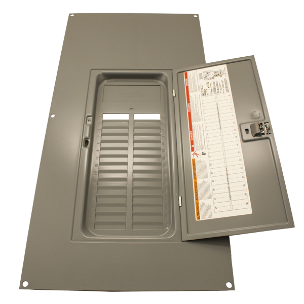 LOAD CENTER, SQUARE D, QOC30US, NEMA1, COVER SURFACE FOR 200A LOAD CENTER 053-02164 OR 053-02187