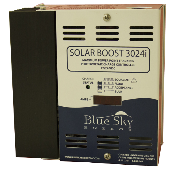 BLUE SKY, SB3024DiL, MPPT CONTROL, SOLAR BOOST CHARGE CONTROL W/ DISPLAY 40A/12 30A/24V