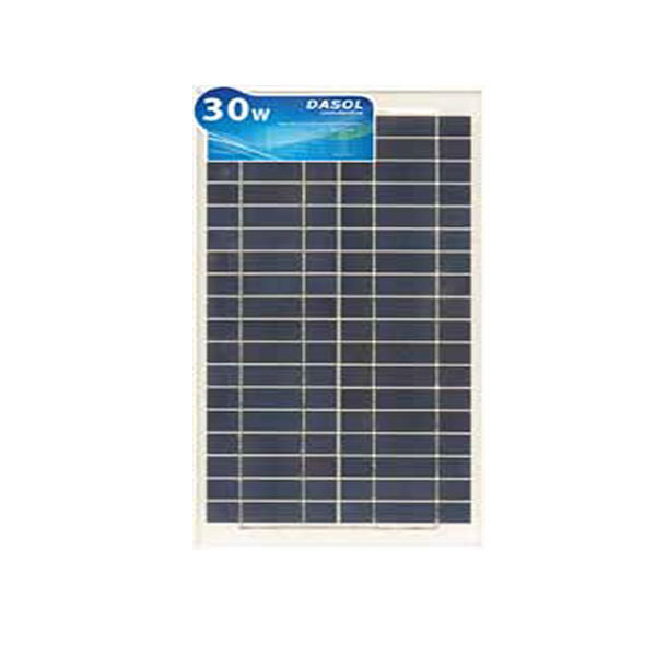 DASOL, DS-A18-30, PV MODULES, 30W, POLY/WHITE/CLEAR, WIRES, CHINA