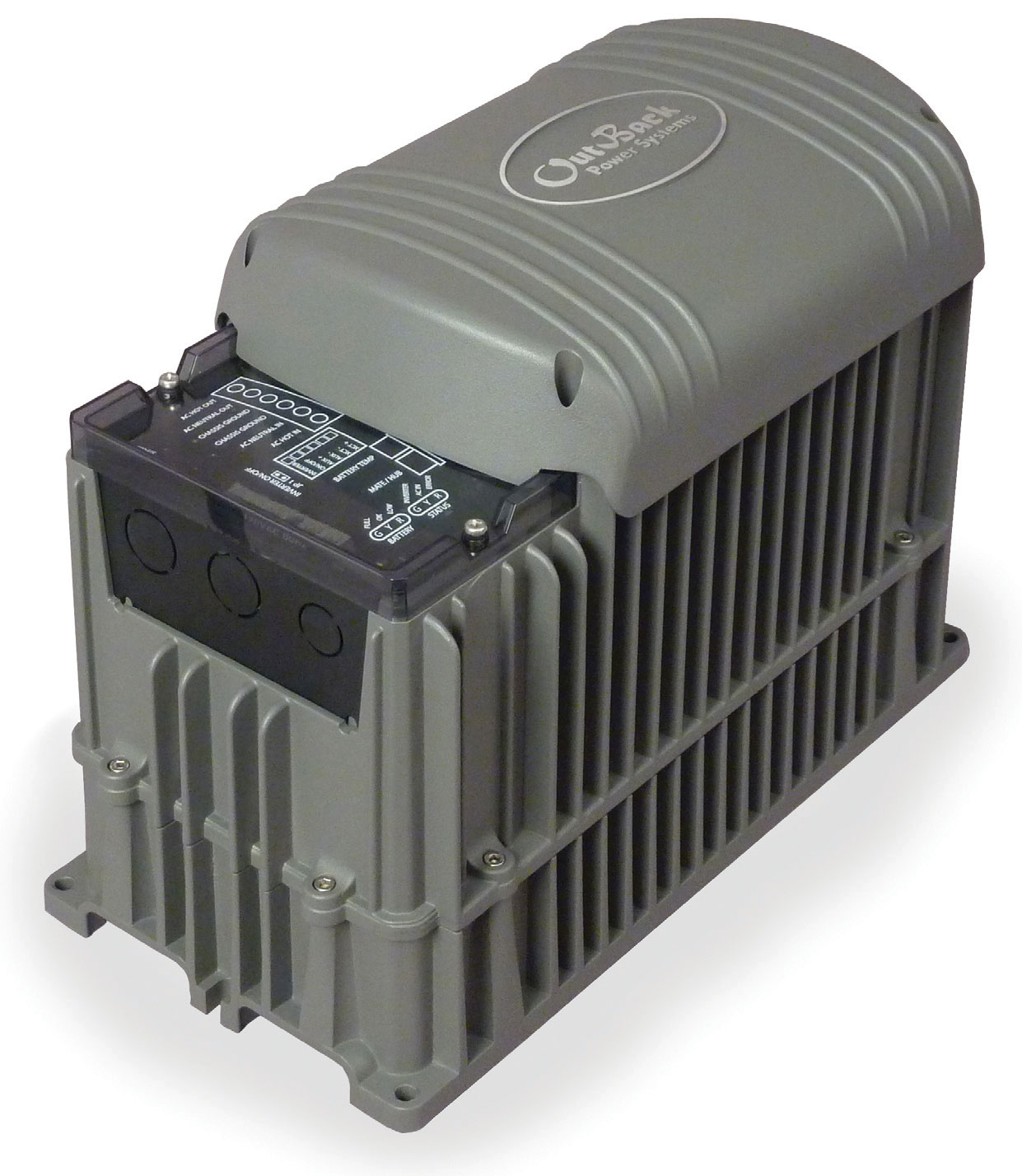OUTBACK, GVFX3524, BATTERY INVERTER, GRID TIE, 3.5KW 24VDC, 120VAC 60HZ