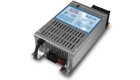 IOTA, DLS-27-40/IQ4, BATTERY CHARGER, 40A 24VDC 120VAC WITH IQ4 CONTROLLER