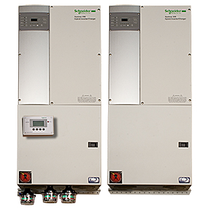 MIDNITE, MNXWPAC6848D, PRE-WIRED POWER PANEL, AC COUPLED, 13.6 KW, 48 VDC, 120/240VAC, DUAL XW+6848