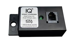 IOTA, IQ4-54VDC, BATTERY CHARGER, 3 STAGE SMART CONTROLLER