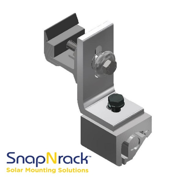 SnapNrack Ultra Rail Seam Clamps