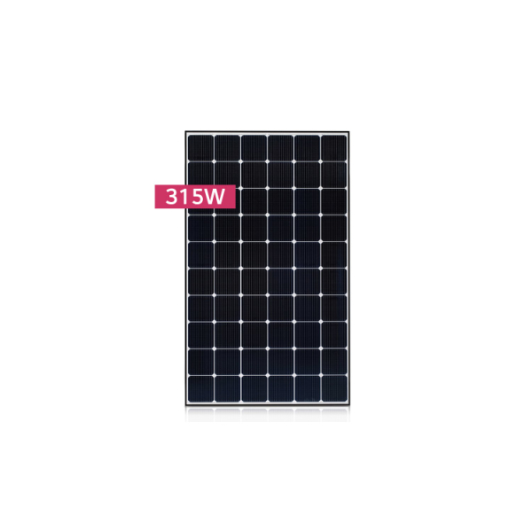 LG, LG315N1C-G4, PV MODULES, 315W, BLACK FRAME, MC4-TYPE, KOREA