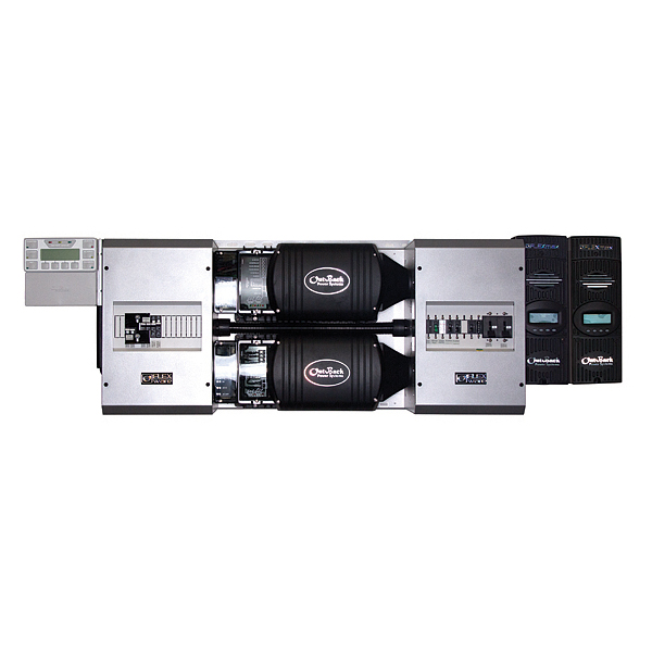 OUTBACK, FP2 VFX3524, PRE-WIRED POWER PANEL, OFF GRID, 7.0KW, 24VDC, 120/240VAC, 60HZ, DUAL VFX3524 FM80