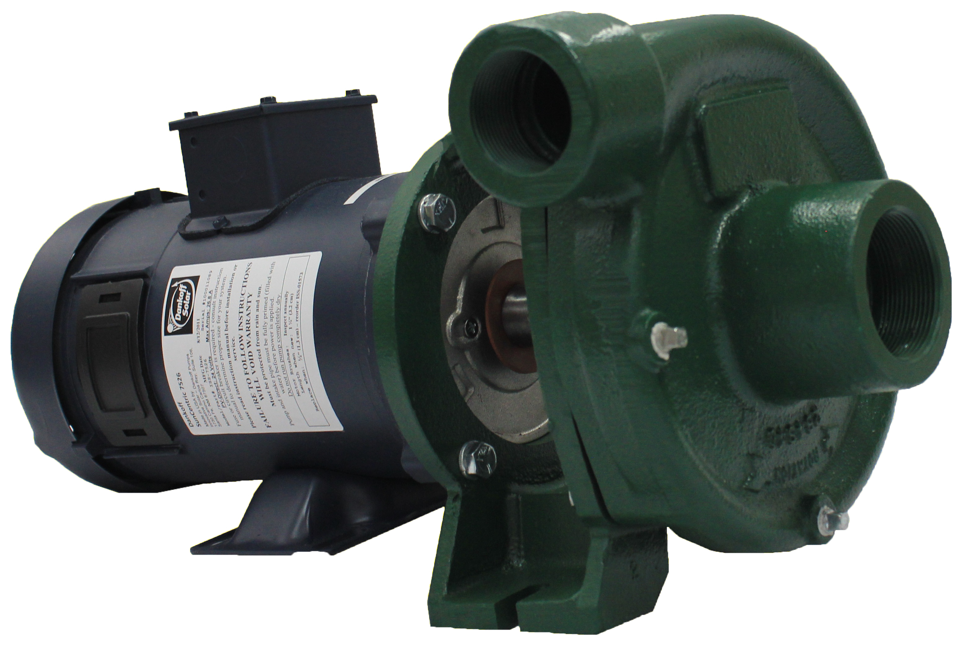 DANKOFF PUMP, SUNCENTRIC CENTRIFUGAL PUMP, 7442, 36VDC PV DIRECT OR 48VDC BATTERY