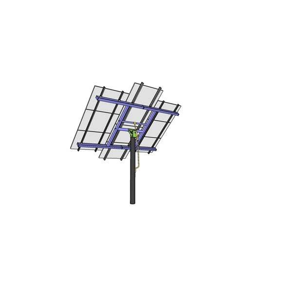 MT Solar Top of Pole Mount (TPM) 72-cell Modules