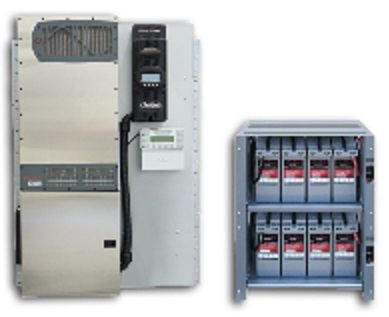 OUTBACK, FPR-4048A-19.2kWh, PACKAGE FPR-4048A 4.0kW, IBR-2-48-175, EIGHT 200RE