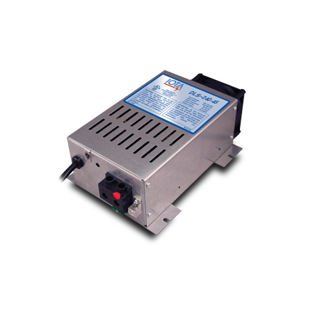 IOTA, DLS-240-45, BATTERY CHARGER, 45 A, 12 VDC, 230-240 VAC, 50-60 HZ
