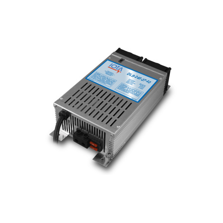 IOTA, DLS-240-27-40, BATTERY CHARGER, 40 A, 24 VDC, 230-240 VAC, 50-60 HZ