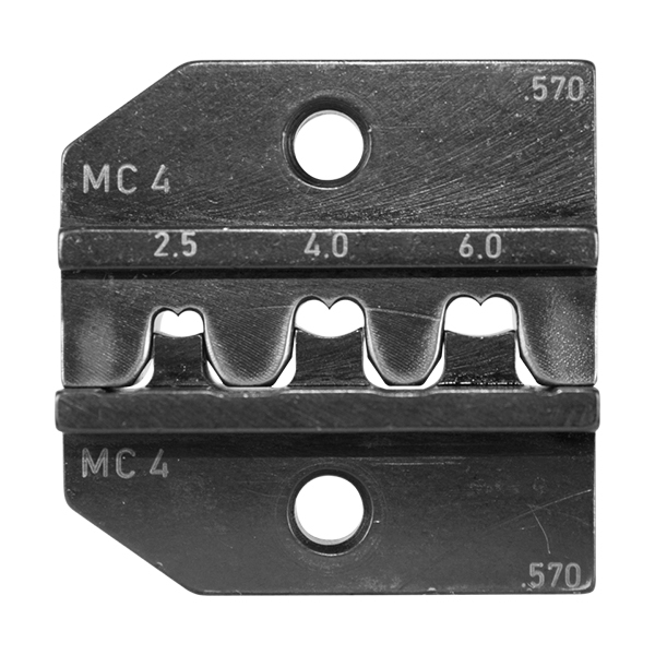 RENNSTEIG TOOL, MC4 624 570 3 0, DIE ONLY FOR RENNSTEIG CRIMP TOOL, MC4 DIE