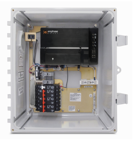 ENPHASE, XAM1-120, AC COMBINER BOX, METERED, WITH ENVOY-S, METERED GATEWAY, 3X 20A BREAKERS