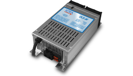 IOTA, DLS-90/IQ4, BATTERY CHARGER, 90A 12VDC 120VAC WITH IQ4 CONTROLLER