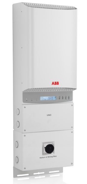 ABB, PVI-6000-OUTD-US-A-BWP, NON-ISOLATED STRING INVERTER, 5000 W, 208/240/277 VAC, DUAL MPPT WITH AFCI, 5 YR WARRANTY
