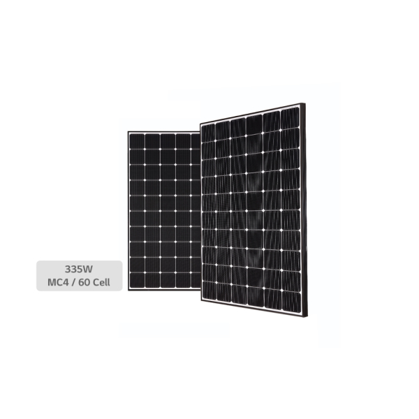 LG, LG335N1C-A5, PV MODULES, 335W, BLACK FRAME, MC4-TYPE, KOREA