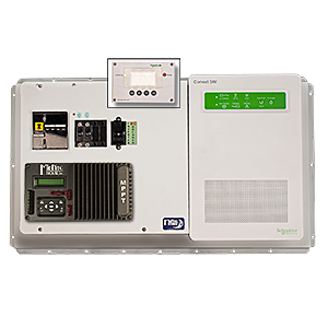 MIDNITE, MNSW2524-KID-B, 2 KW, 24 VDC, 120/240 VAC, SW2524-120 POWER PANEL WITH KID-B CHARGE CONTROL