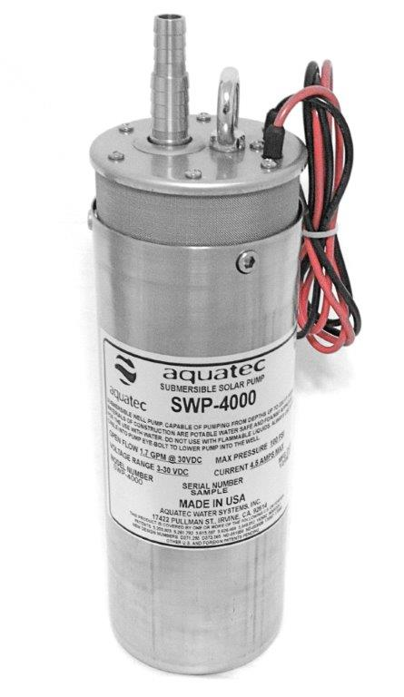 AQUATEC, SWP-4000, SUBMERSIBLE PUMP
