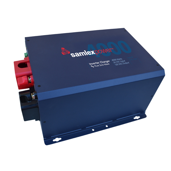 SAMLEX, EVO-4024, BATTERY INVERTER, OFF-GRID SINEWAVE, 4000 W, 24 VDC, 120 VAC, 60 HZ